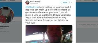 Miley Cyrus fan arrested in Vegas