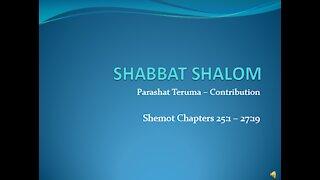 Midrash on Torah Portion Terumah, 2/20/2021