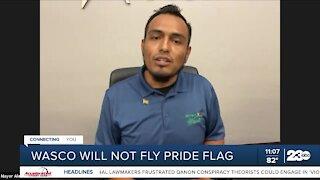 Wasco Mayor reacts to failed pride flag motion