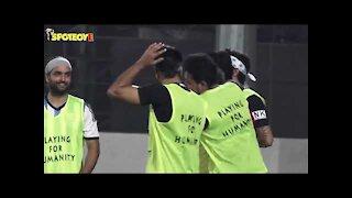 Tiger Shroff, Disha Patani, Arjun Kapoor & others snapped playing football | SpotboyE