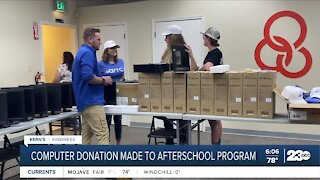 Kern's Kindness: Computer donation made to afterschool program