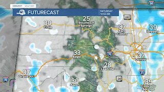 Here's what the snowfalll will look like Saturday across Colorado