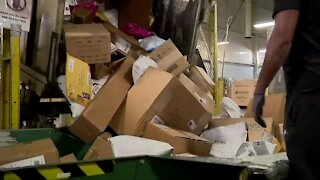 Delivery delays for holiday packages