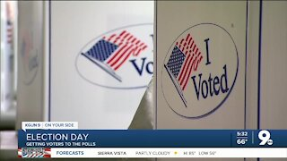 Poll workers arrange for transportation to help voters