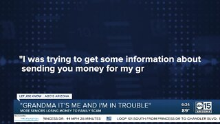 'Grandma, it's me and I'm in trouble': More seniors losing money to family scam
