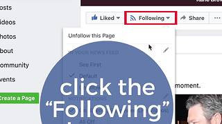 How to take back control of your newsfeed/RA