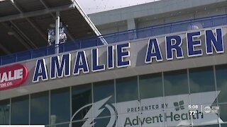 Amalie Arena to allow a limited number of family, friends to games
