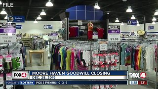 Moore Haven Goodwill store closing