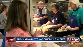 Anticipating effects of canceled fish fries
