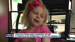 Lincoln Park man charged after 3-year-old accidentally shoots herself