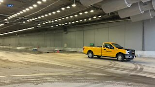Central 70's 1st underground tunnel could open next month