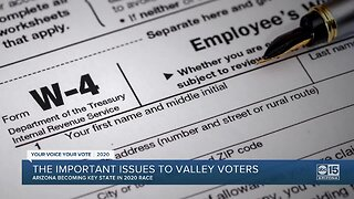 The important issues to Valley voters