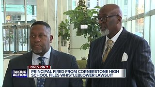 Fired Detroit charter high school principal fights back with lawsuit