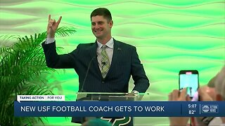 USF names Jeff Scott new head football coach