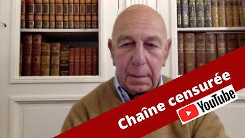 Chaîne des Cercles Nationalistes Français censurée par YouTube !