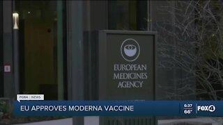 EU approves Moderna vaccine