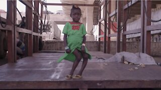 Six-year-old born with bent legs walks for the first time after life-changing surgery (1)