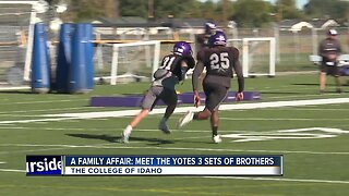 C of I Yotes Football Brothers