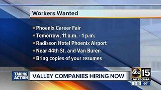 Companies hiring around the Valley