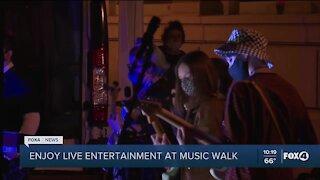 Enjoy live entertainment at Music Walk