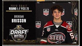 Vegas Golden Knights draft Brendan Brisson