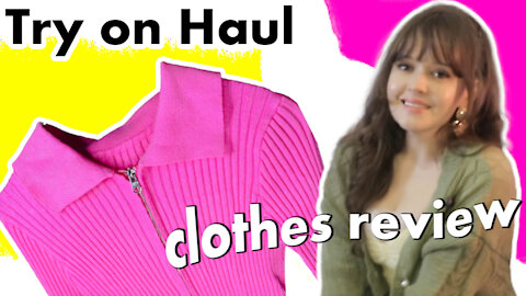Reaction to YesStyle - Try on haul - Worth the price! Fashion review.