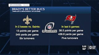Bucs feel better prepared to face Saints in Sunday's divisional-round