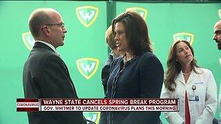 Gov. Whitmer to update Michigan's coronavirus plans
