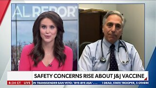 SAFETY CONCERNS RISE ABOUT J&J VACCINE