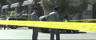 One person hospitalized after a shooting
