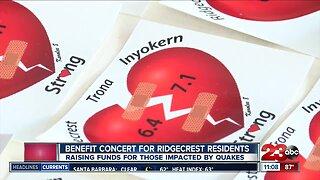 Earthquake relief concert held in Ridgecrest