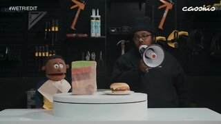 We Tried It Episode 104 - Burger King's Pound King Sandwich