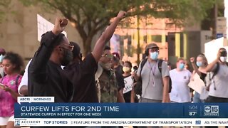 Fifth night of protests was calm in Phoenix