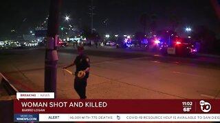 Woman shot and killed