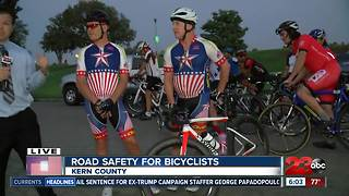 Bicyclists looking for safer roads in Kern County