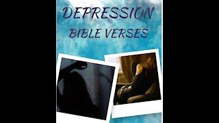 7 Bible verses for DEPRESSION // Scriptures for Depression// Depression Motivation 13 #shorts