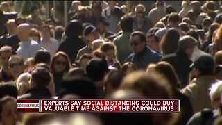 Officials urge practice of 'social distancing' amid coronavirus pandemic