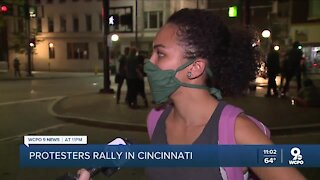 Peaceful protesters in Cincinnati march for Breonna Taylor