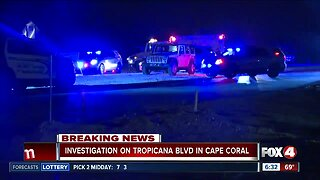 Deputies close Tropicana Parkway for investigation in Cape Coral