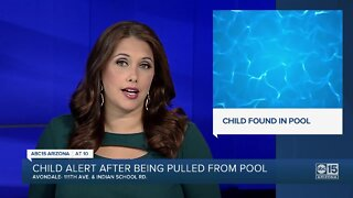 FD: 1-year-old boy pulled from pool near 111th Ave and Indian School