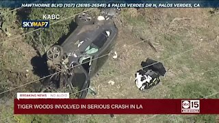 Tiger Woods injured in Los Angeles-area crash, sheriff says