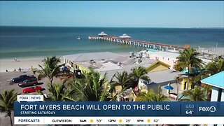 Fort Myers Beach reopen to public starting Saturday