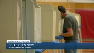 Polls open amid pandemic in Wisconsin Partisan Primary