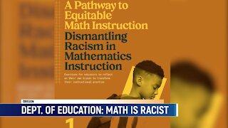 "Oregon Department Of Education Promotes ""MATH Is RACIST"" Program"