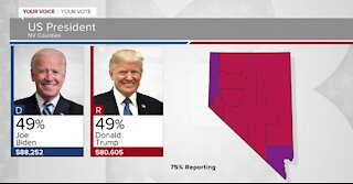 Votes still being counted in Nevada