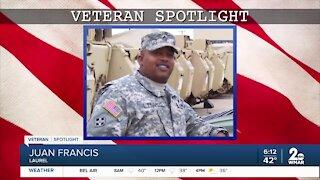 Veteran Spotlight: Juan Francis of Laurel