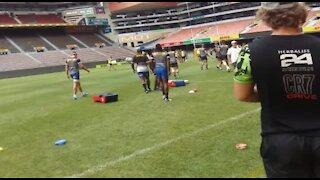 SOUTH AFRICA - Cape Town - Stomers training (Video) (2Tk)