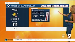 Excessive heat warnings extended