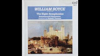William Boyce - Eight Symphonies