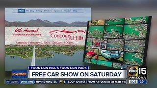 Free car show in Saturday in Fountain Hills